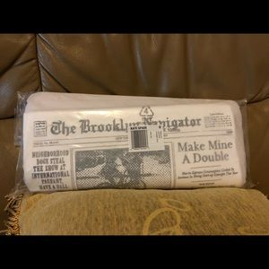 NWT Kate Spade Newspaper Clutch